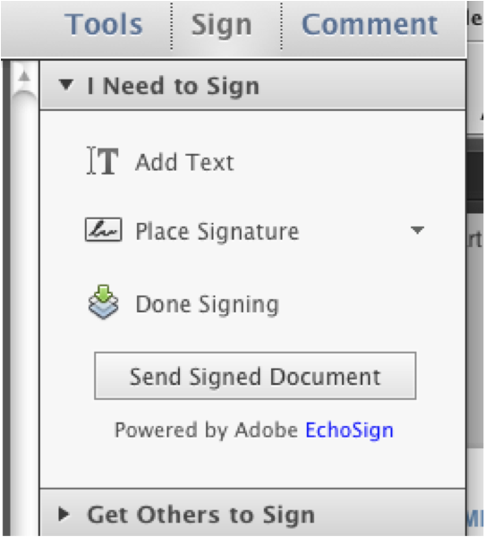 how to make an electronic signature in adobe